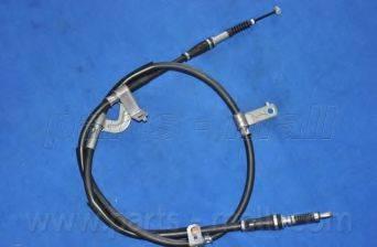 Трос, стояночная тормозная система PARTS-MALL PTA-363