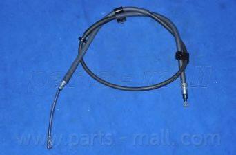 Трос, стояночная тормозная система PARTS-MALL PTC-022