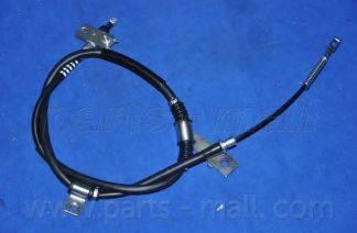 Трос, стояночная тормозная система PARTS-MALL PTD-004