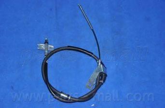 Трос, стояночная тормозная система PARTS-MALL PTD-009