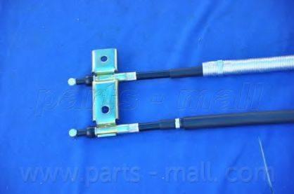 Трос, стояночная тормозная система PARTS-MALL PTD-029