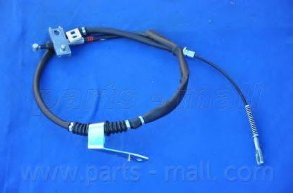 Трос, стояночная тормозная система PARTS-MALL PTD-034