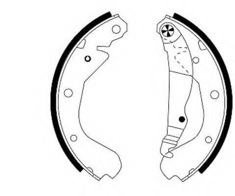Комплект тормозных колодок MINTEX MFR179