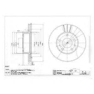 Тормозной диск DELPHI BG2846