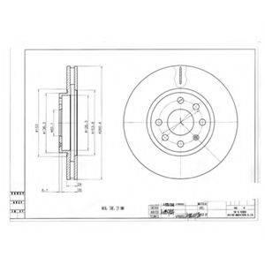 Тормозной диск DELPHI BG3569