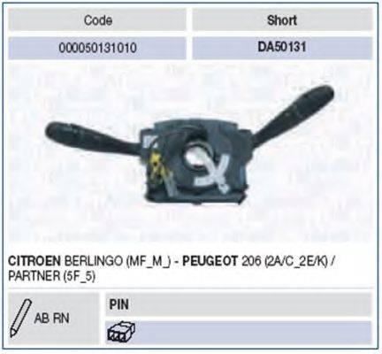 Выключатель на колонке рулевого управления MAGNETI MARELLI 000050131010