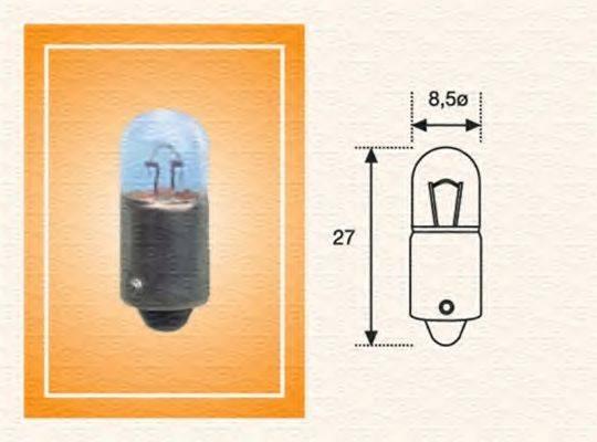 Лампа накаливания, задний гарабитный огонь; Лампа накаливания, стояночные огни / габаритные фонари; Лампа накаливания MAGNETI MARELLI 002894100000